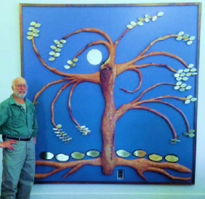 Our new Tree of Life was made by Robert Bergman to honor Pearl and Amos Turk and was donated by their family