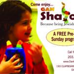 Enrollment open for Gan Shalom 2017